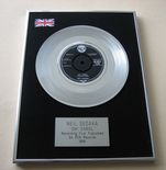 NEIL SEDAKA - OH! CAROL Platinum single presentation Disc